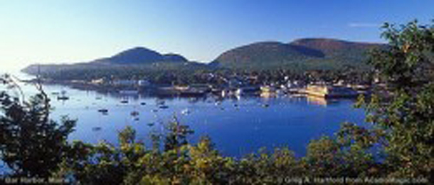 THE BAR HARBOR AREA
